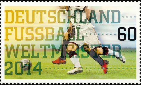 預印500萬張冠軍郵票 德國郵局預言成真