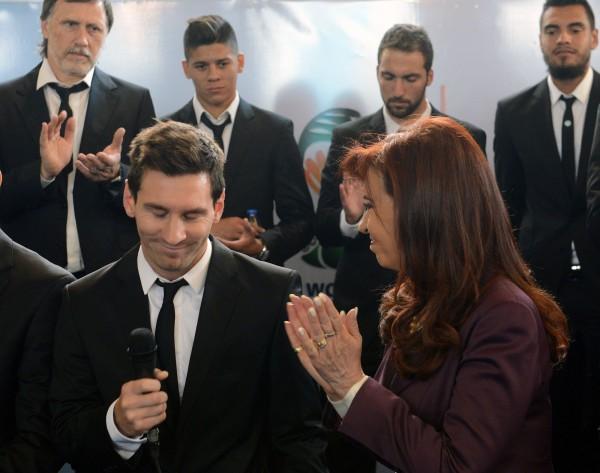 球員歸國 阿根廷總統:令我驕傲!