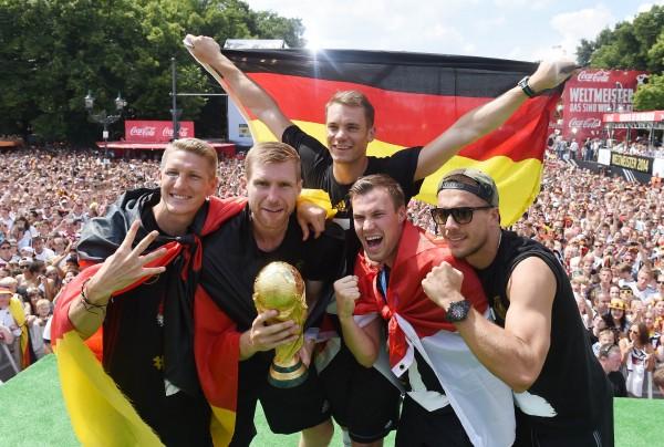 足壇排名洗牌 德國躍居龍頭 西班牙摔到老八